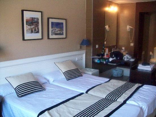 Hotel Terramarina : onze kamer