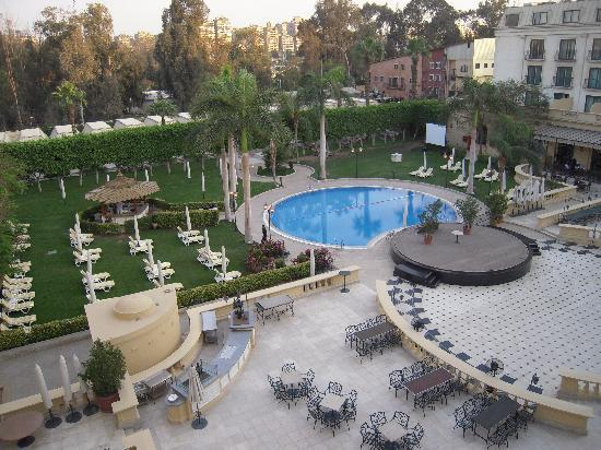 Concorde El Salam Hotel Cairo by Royal Tulip: view from room balcony
