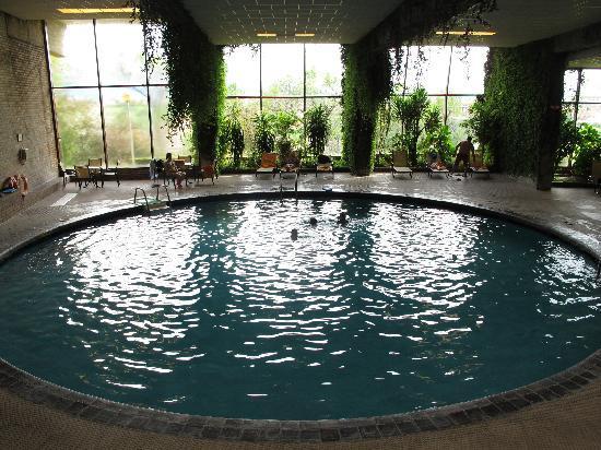 Vistas desde la habitaci n fotograf a de parador de for Hotel piscina segovia
