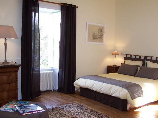 Manoir de la Thebline : La chambre d'Agnès