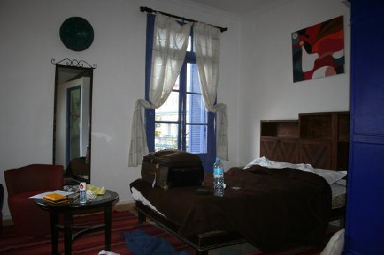 Hotel Central: chambre quadruple l'autre lit