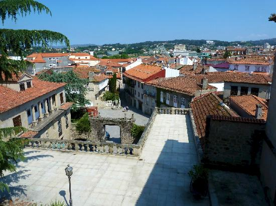 Parador de Pontevedra: Blick aus dem Zimmerfenster