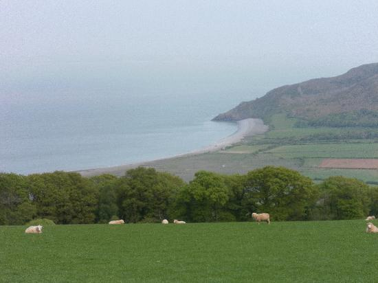 Spillers Farm: View over Exmoor national park