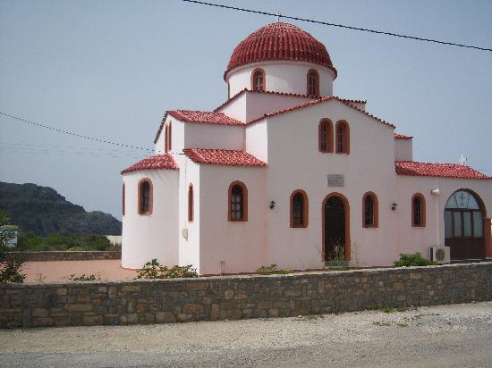Hotel Irida Plakias: CHURCH NEAR HOTEL