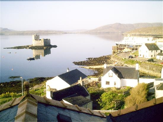 Craigard Hotel: View from restaurant.
