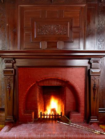 Birchwood hall fireplace