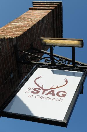 The Stag at Offchurch: Sign