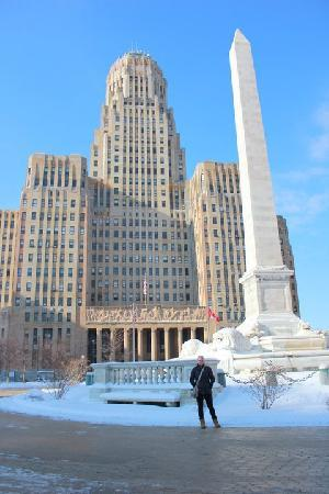 Buffalo City Hall: View from Niagara Square