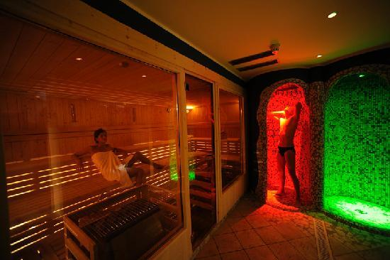 AlpHoliday Dolomiti Wellness & Fun Hotel: Sauna