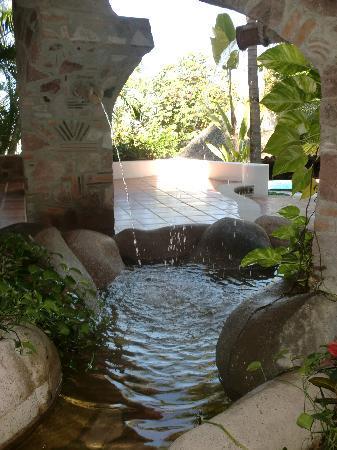 Villas Mediterraneas: entrance to the pool area