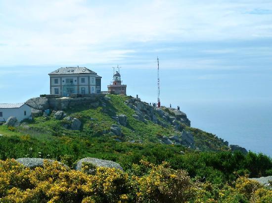 Finisterre, إسبانيا: Leuchtturm am Kap Finisterre