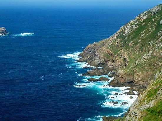 Finisterre, إسبانيا: Costa da Morte am Kap Finisterre