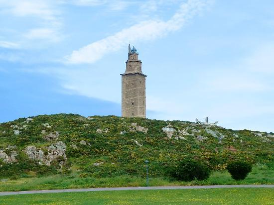 Tower of Hercules (Torre de Hercules) : Leuchtturm Torre de Hércules