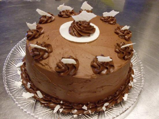 Boardwalk Bakery: Chocolate cake