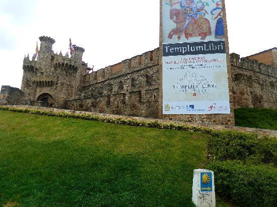 Ponferrada, Spania: Burg des Templerordens