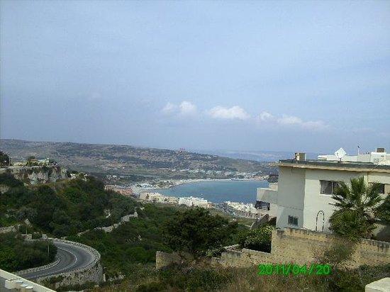 Mellieha, มอลตา:                   hilltop view