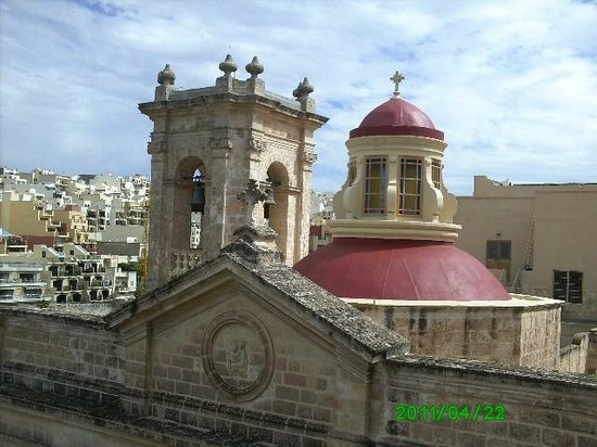 church roof mellieha