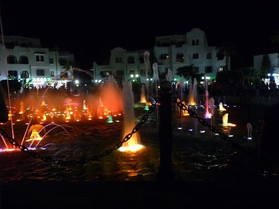 El Kantaoui Center : Fountain in the Port