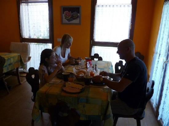 Villa Patrizia : Prima Colazione