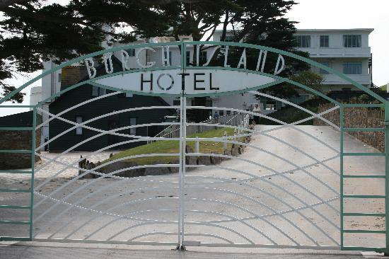 Burgh Island Hotel : Hotel entrance