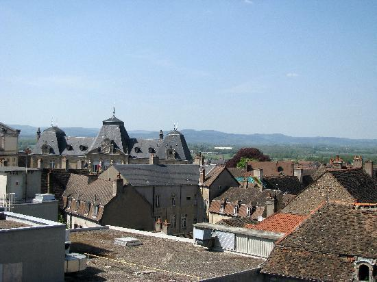 Logis de La Tete Noire : Final view out our window