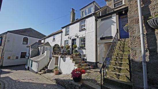 The Anchorage B&B St Ives: entrance in Bunkers Hill