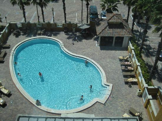 Radisson Hotel Orlando - Lake Buena Vista: The pool area.