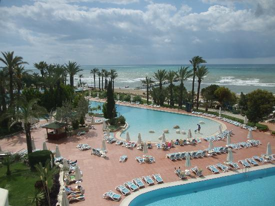 SENTIDO Perissia: View of the pools from high