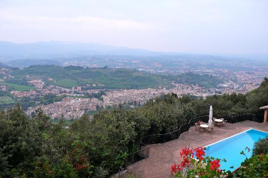 Monteluco, Italia: vista su Spoleto