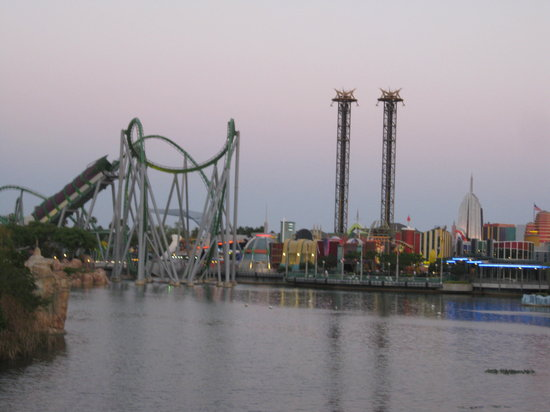 Universal Studios Florida: A view of Islands of Adventure