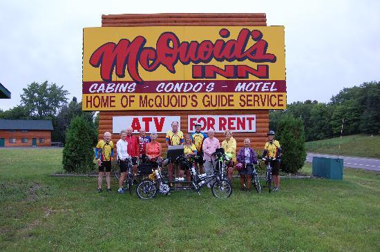 McQuoid's Inn & Event Center: Biking