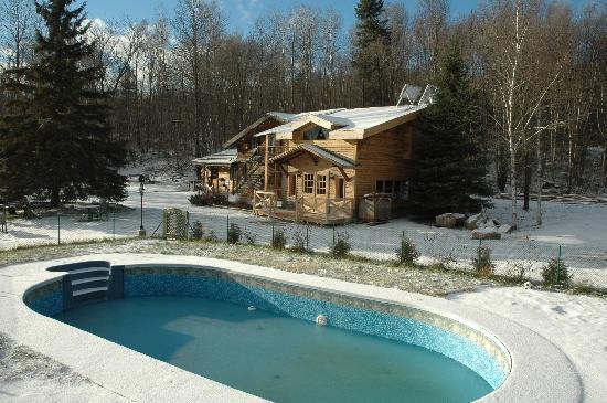 Mont Laurier, Canada : les premieres neige