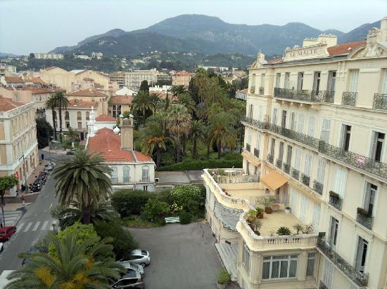Quality Hotel Mediterranée : View from the roof terrace