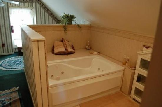 Innisfree Bed and Breakfast: The 3rd floor jacuzzi.