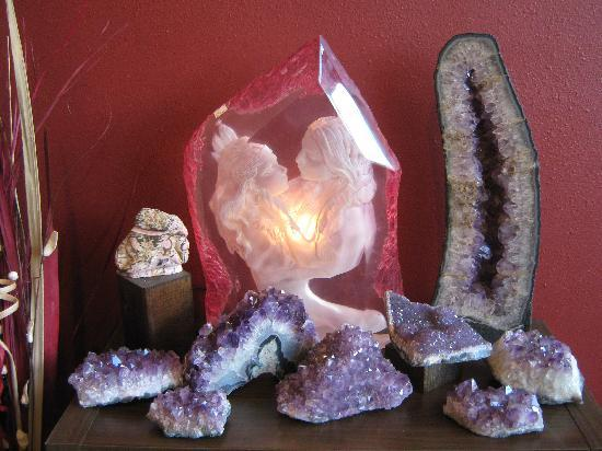 Mammoth Lakes, Californie : we also have locally minded crystals