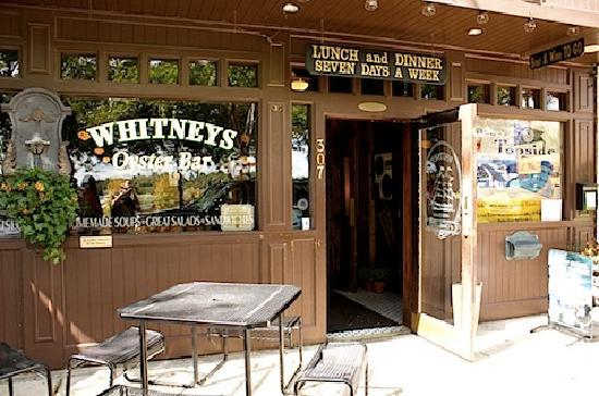 Whitney's of Charlevoix: the outside of whitney's