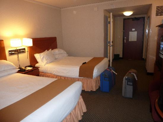 Holiday Inn Express Hotel & Suites San Francisco Fisherman's Wharf: twin beds