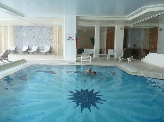 Vincci El Mansour: PISCINE INTERIEURE DE L'HOTEL