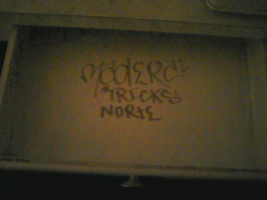 Homestead Motel: tags inside the drawers