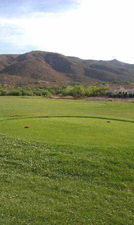 Arizona National Golf Club: Tee box