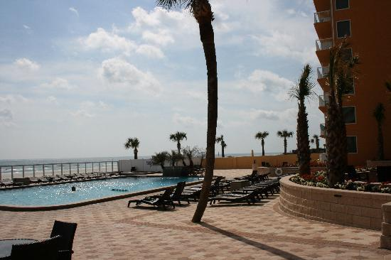 Holiday Inn Resort Daytona Beach Oceanfront: The patio