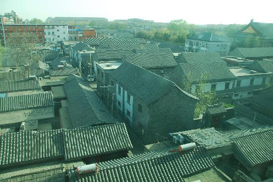 Jade Garden Hotel : The view from our bedroom window