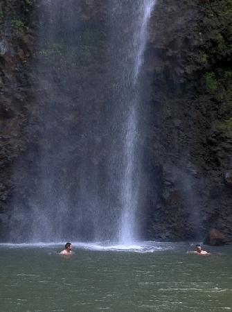 "Kauai, HI: ""Secret Falls"" up Wailua River"