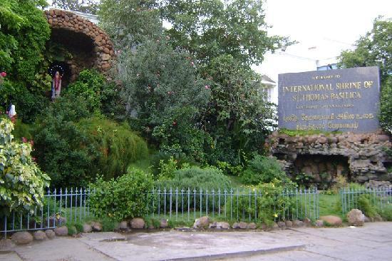 San Thome Church : 敷地入り口