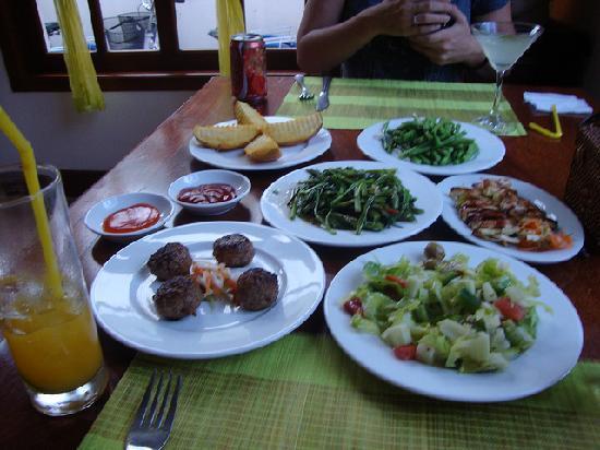 Soria Moria Fusion Kitchen: Food!