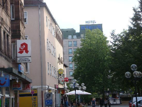 Maritim Hotel Nurnberg: View of the hotel