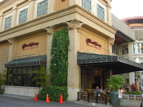 The Cheesecake Factory: 店舗裏側