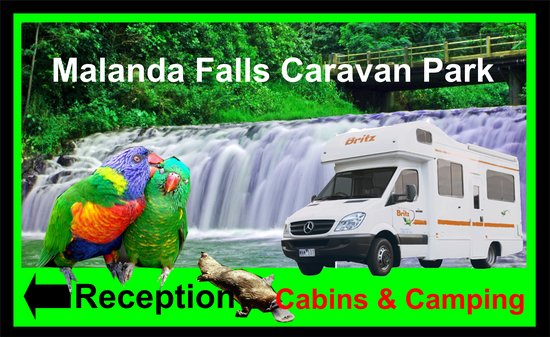 Malanda Falls Caravan Park: Ideally Located