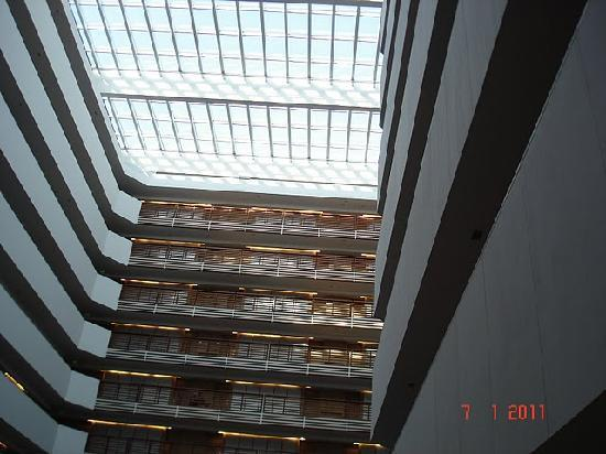 The Westin Hyderabad Mindspace: Another view of atrium