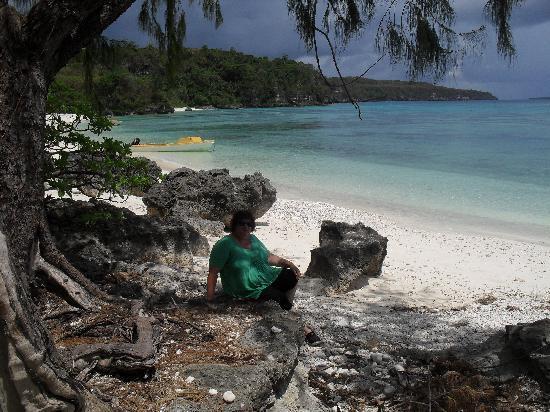 Havannah Eco Lodge: Me on Lelepa Island, Efate